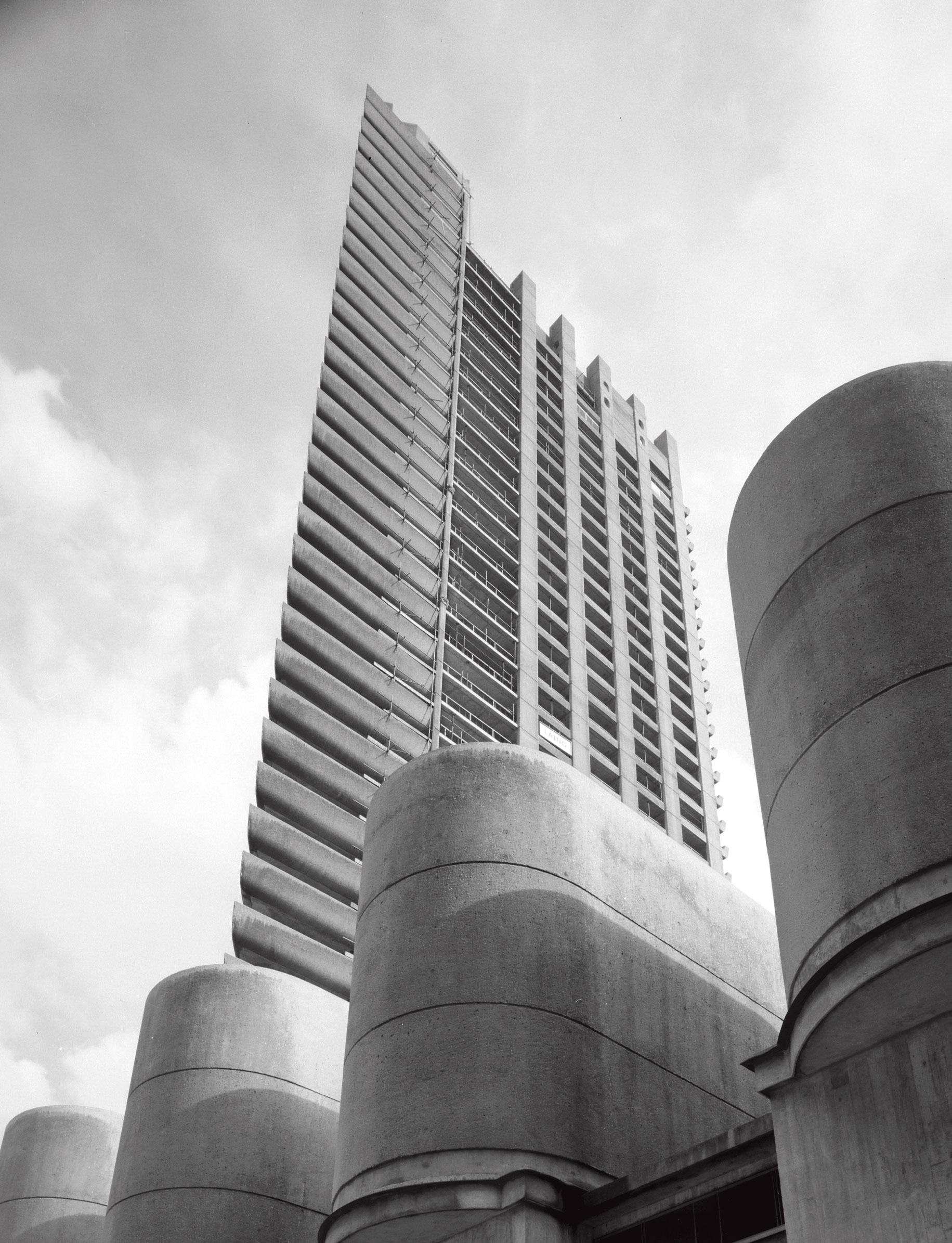 The Barbican as featured in Atlas of Brutalist Architecture