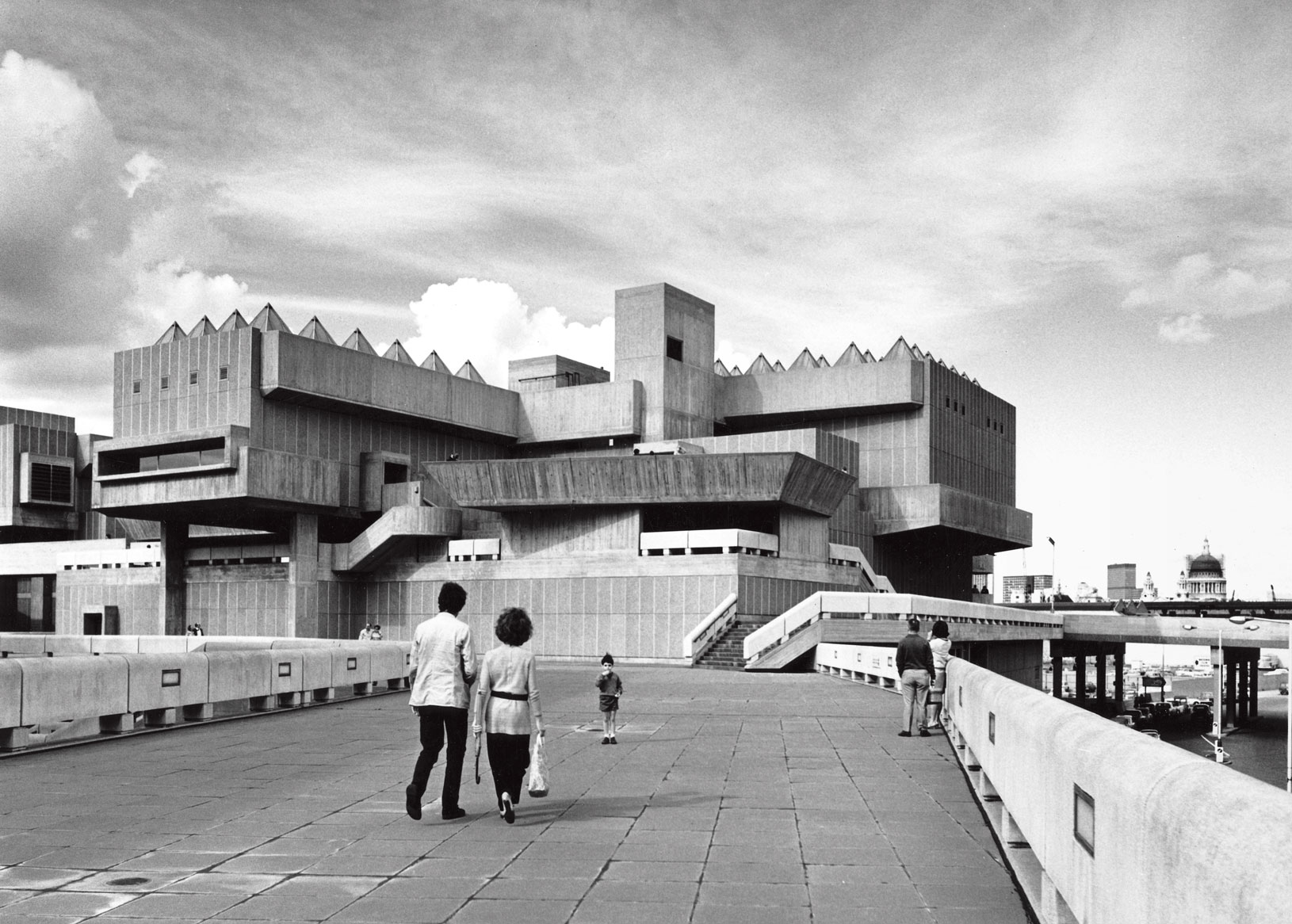 The Hayward Gallery as featured in Atlas of Brutalist Architecture