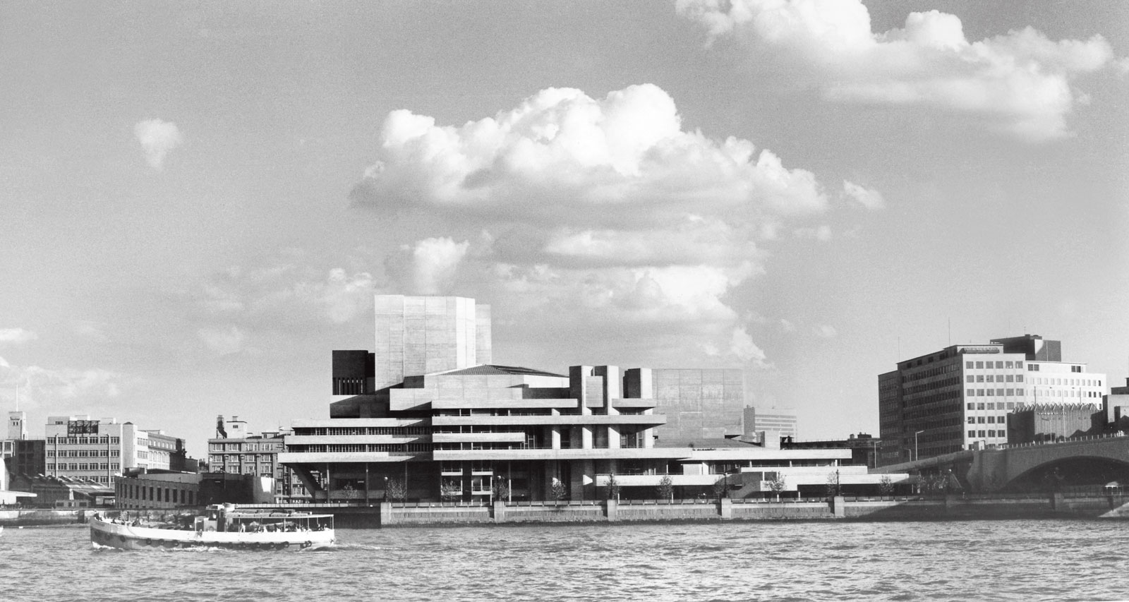The National Theatre as featured in Atlas of Brutalist Architecture