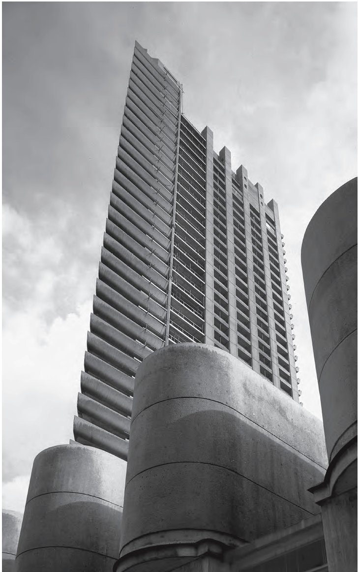 The Barbican, London, as featured in This Brutal World