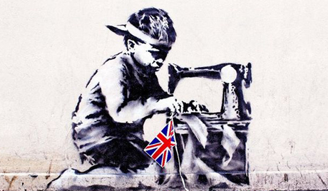 Slave Labour (2012) by Banksy