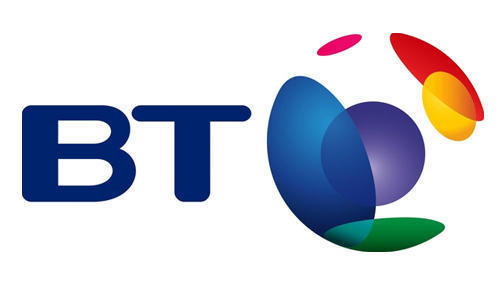 British Telecom's 2003 logo, overseen by Wolff Olins