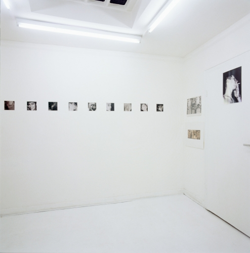 Installation view of Wolfgang Tillmans exhibition at Daniel Buchholz's gallery, 1993