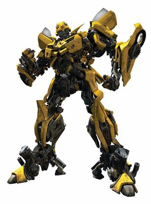 Bumblebee, from the 2007 Transformers film