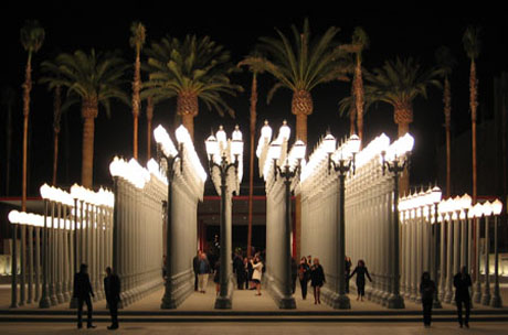 Urban Light (2008) by Chris Burden