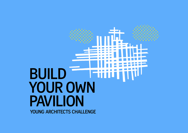 Pentagram's illustration of Sou Fujimoto's 2013 Pavilion. Image courtesy of Pentagram