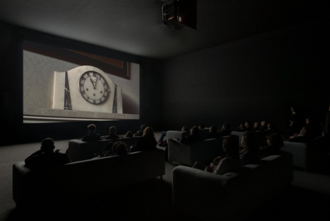 A 2010 screening of The Clock