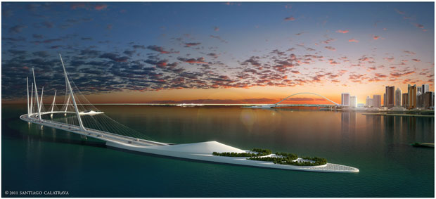 Doha Bay Sharq Crossing - Santiago Calatrava