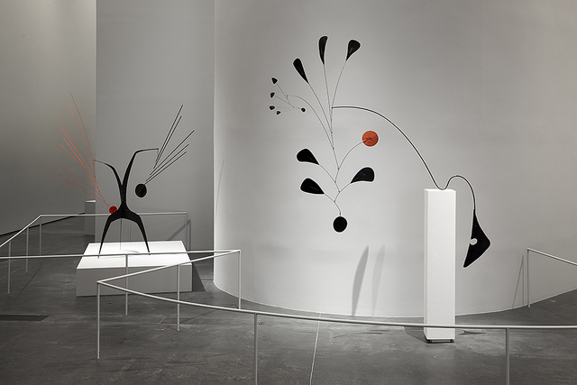 Installation view from LACMA's Alexander Calder: From Avant-Garde to Iconic