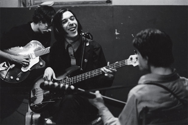 John Cale (centre) Sterling Morrison (back left) and Lou Reed (near right). From Factory Andy Warhol Stephen Shore