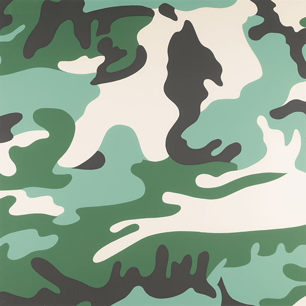 Camouflage (1987) by Andy Warhol