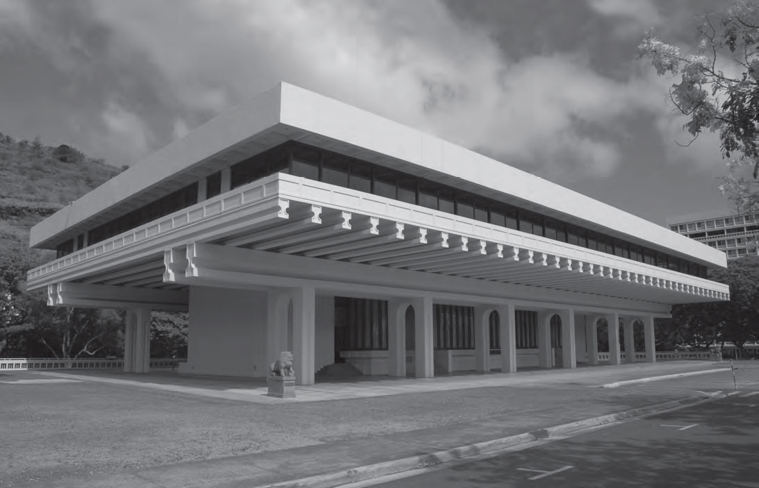 Jefferson Hall, East-West Center, Honolulu, Hawaii, as reproduced in This Brutal World