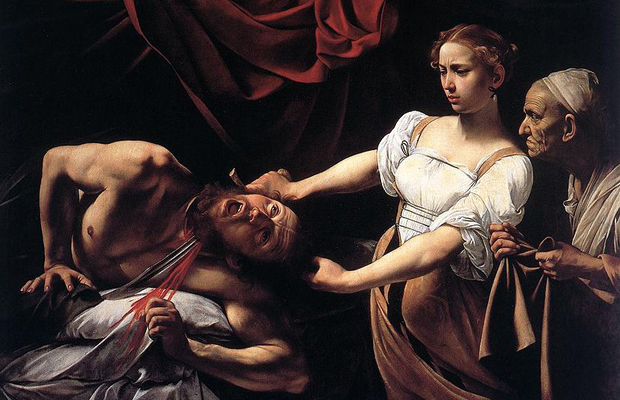 Judith Beheading Holofernes (1598–1599) by Caravaggio, also featured in Beauty