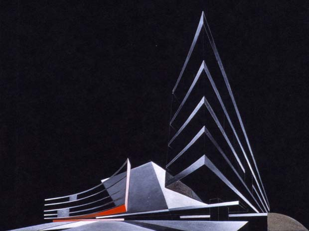 Cardiff Bay Opera House 1994 by Zaha Hadid architects