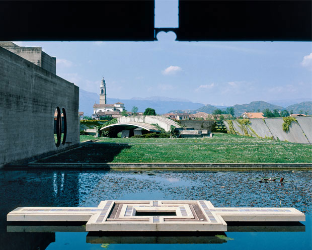 Brion Cemetery Water Pavilion - Carlo Scarpa