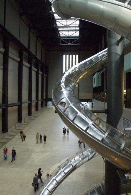 Test Site (2006-7) by Carsten Höller. Image courtesy of the Tate.