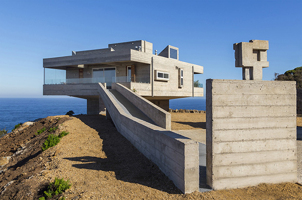 Chile's answer to Le Corbusier's Villa Savoye