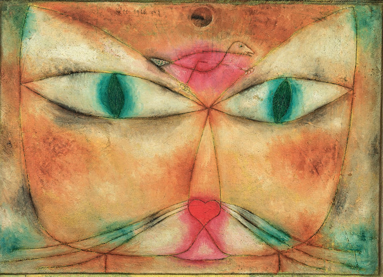 Can you see what Paul Klee's cat wants?