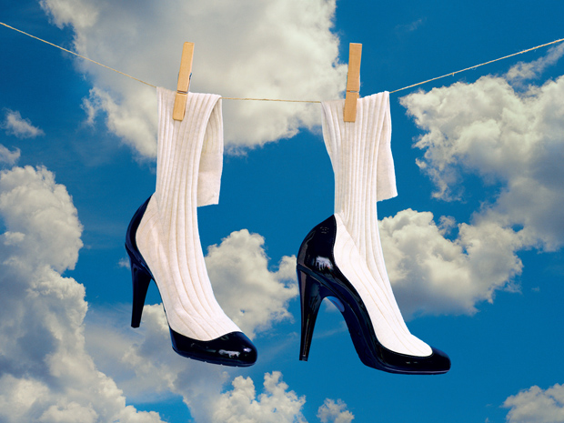 Chanel shoes shot by Maurizio Cattelan and Pierpaolo Ferrari for New York Magazine