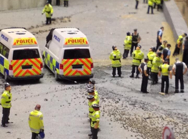 Image from The Aftermath Dislocation Principle by Jimmy Cauty