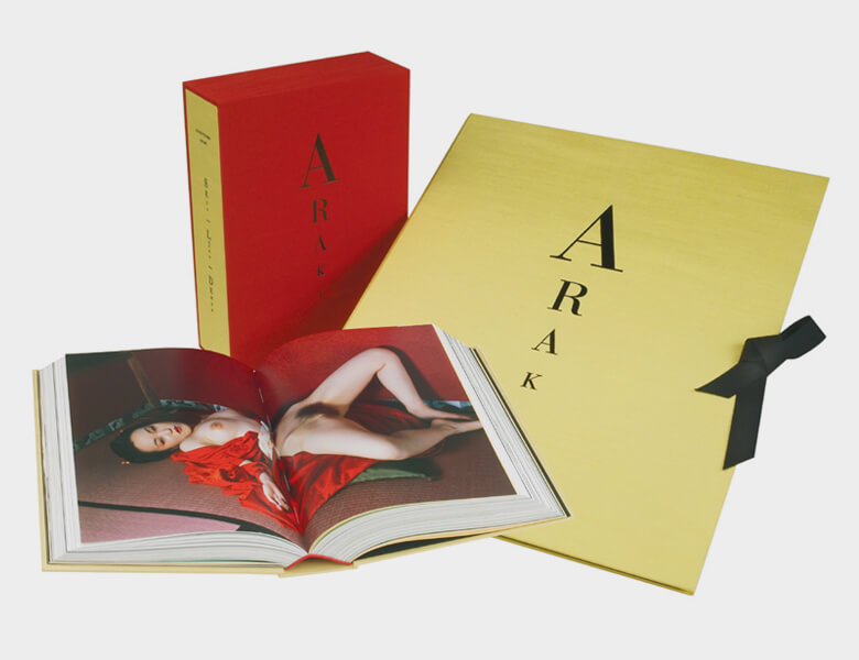 Our collectors' edition Araki book, which includes one of the above prints