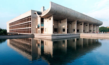 Chandigarh Parliament Building, India - Le Corbusier