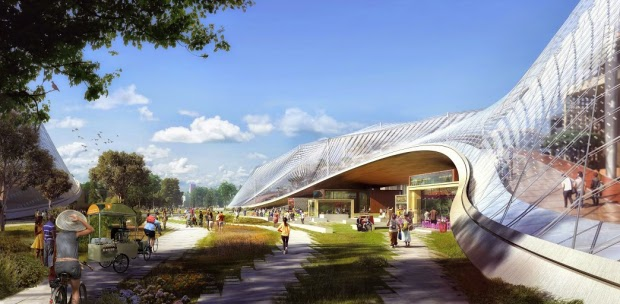 Heatherwick and BIG design Google's moveable HQ