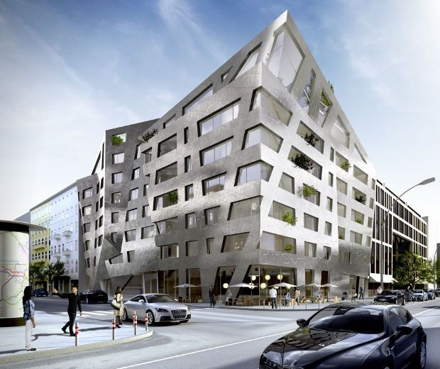Daniel Libeskind's air-purifying apartment block