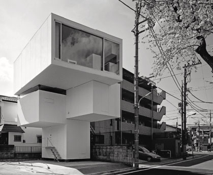 'On the Cherry Blossom' House, Tokyo, Japan, 2008, by AXL