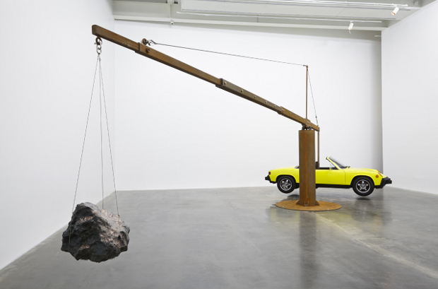 Porch and Meteorite (2013) by Chris Burden