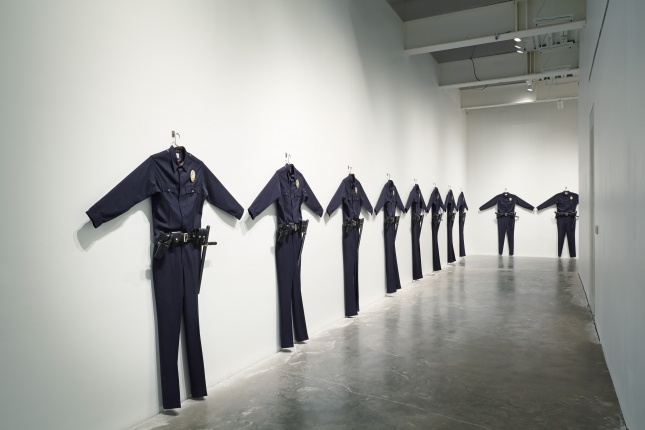 L.A.P.D. Uniforms (1993) by Chris Burden