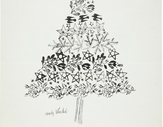 Christmas tree (c. 1956) by Andy Warhol