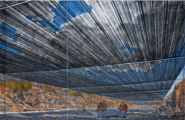 Christo cancels river project over Trump election