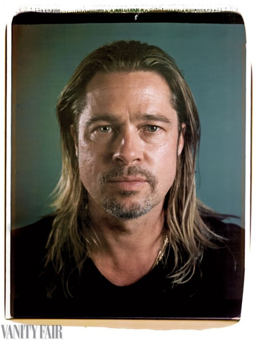 Brad Pitt (2013) by Chuck Close for Vanity Fair