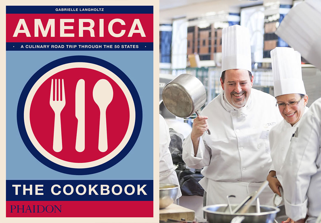 America The Cookbook, and a CIA cookery course - the ideal gifting combination
