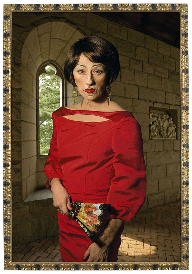 Untitled #470 Chromogenic Colour Print and ornate frame 2008 Edition of 6 - Cindy Sherman, image courtesy Phillips