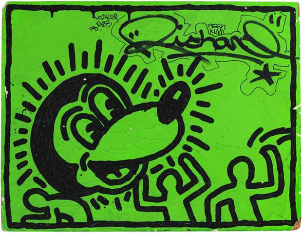 Untitled, 1982 - Keith Haring, Museum of the City of New York, gift of Martin Wong