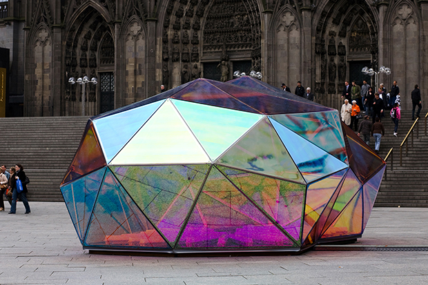 Take A Look At These Tiny Kaleidoscopic Buildings