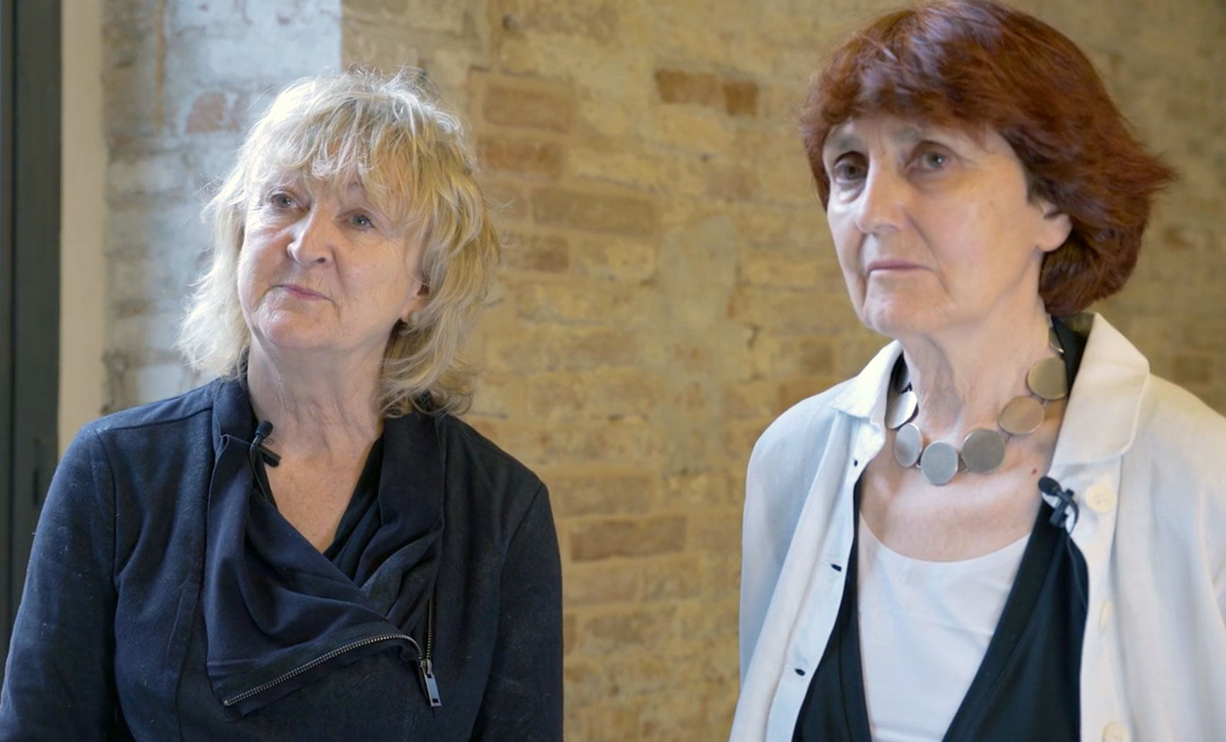 Yvonne Farrell and Shelley McNamara of Grafton Architects