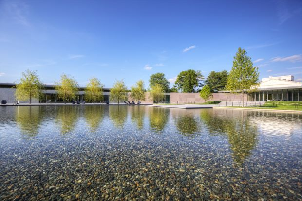 Tadao Ando's new gallery puts the landscape on show
