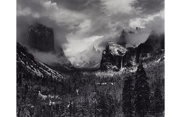 Ansel Adams, Clearing Winter Storm (1937)