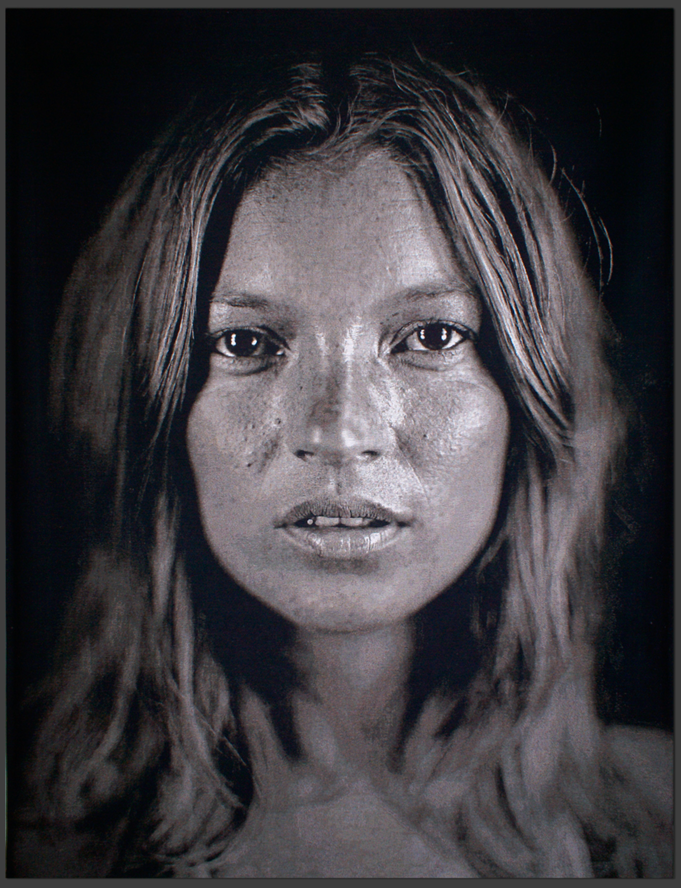 Kate, 2007 by Chuck Close