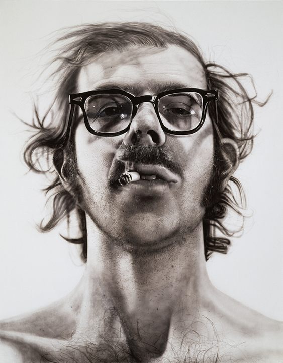 Big Self-Portrait (1967-68) by Chuck Close