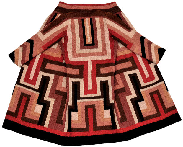 Coat made for the actress Gloria Swanson, 1923-4, by Sonia Delaunay