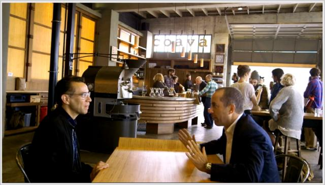 Jerry and Aaron Ultimo at Coava coffee