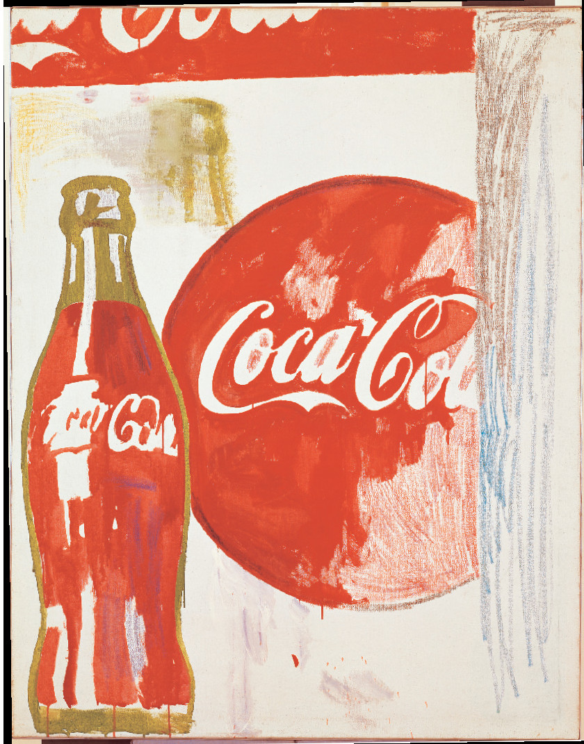 Coca Cola (1) (1961) by Andy Warhol. From Andy Warhol Giant Size