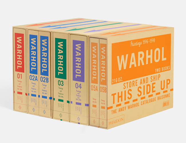 The Andy Warhol Catalogue Raisonné Collection