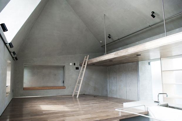 FKI House by Urban Architecture Office, Tokyo, Japan. Image courtesy of Urban Architecture Office