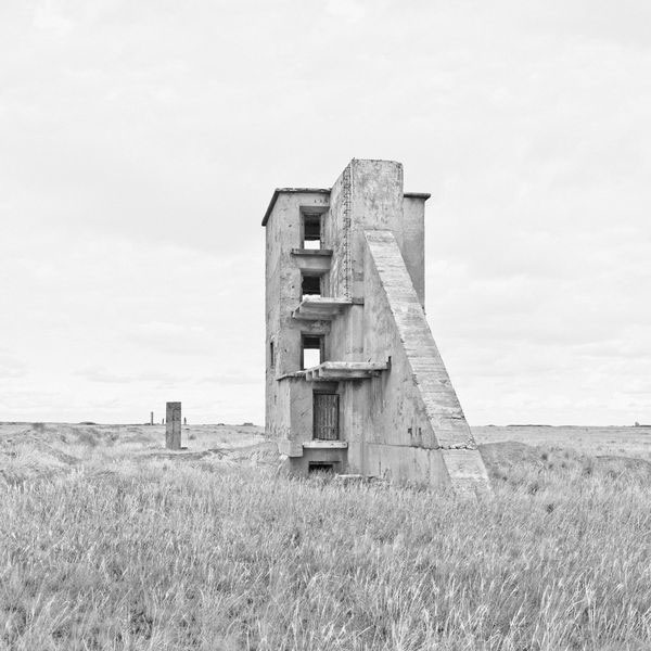 Ursula Schulz-Dornburg Kurchatov - Architecture of a Nucleur Test Site Kazakhstan. Opytnoe Pole. 2012 courtesy of the artist's studio © Ursula Schultz-Domburg