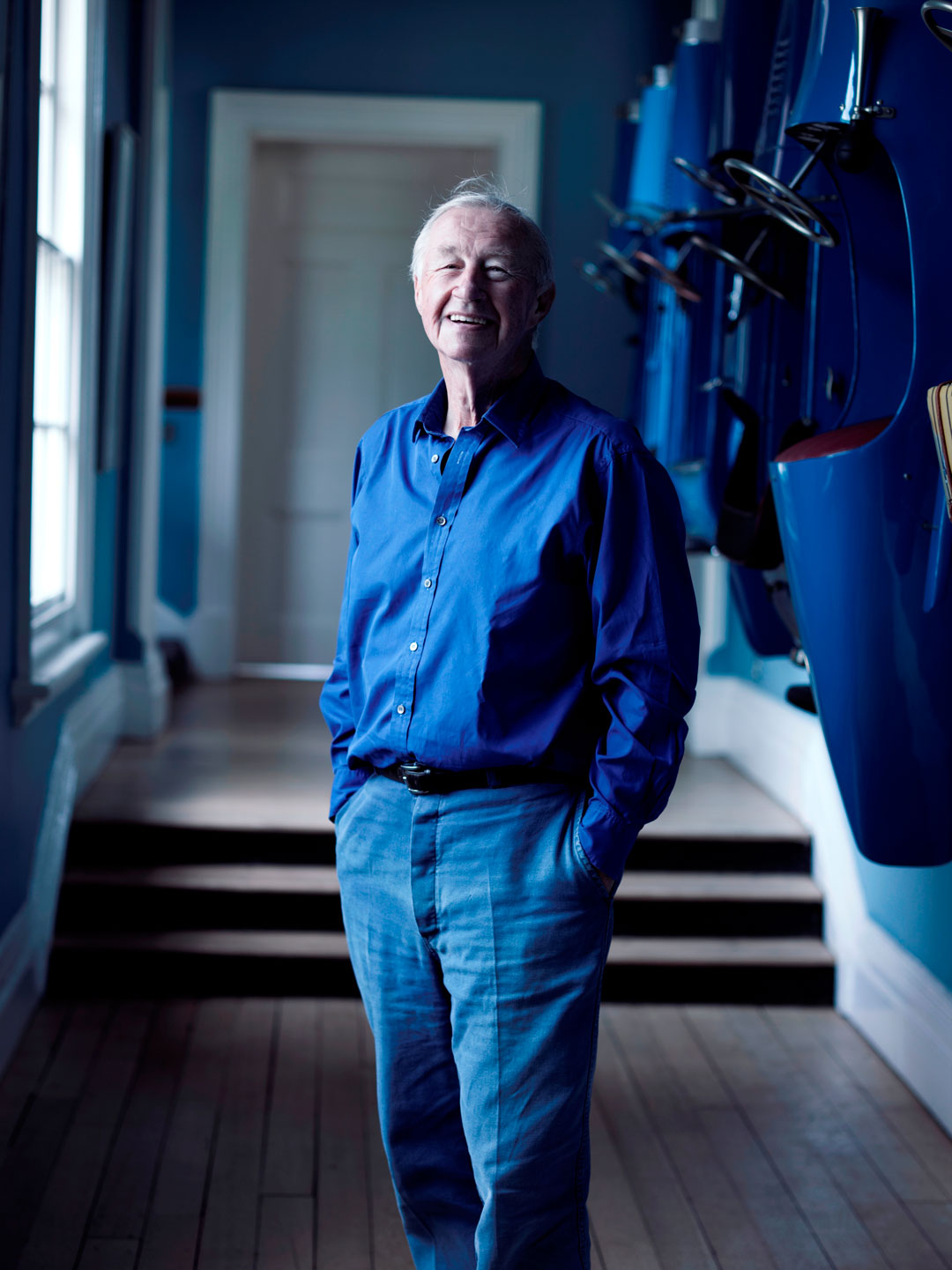 Sir Terence Conran. Image courtesy of the Design Museum